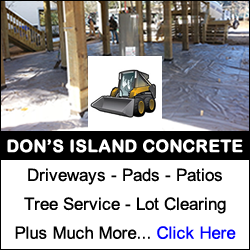 Don's Island Concrete - Southport an Oak Island